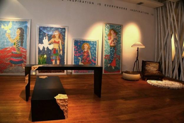 When Art Meets Interior
