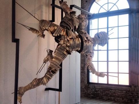 Wim Botha's paper-art sculptures