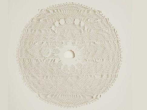 Tahiti Pehrson Mesmerizing Paper Circles by Paper Art View