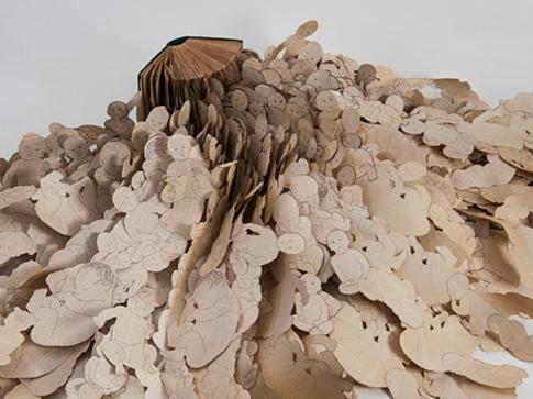 Andi Arnovitz's Paper Artworks