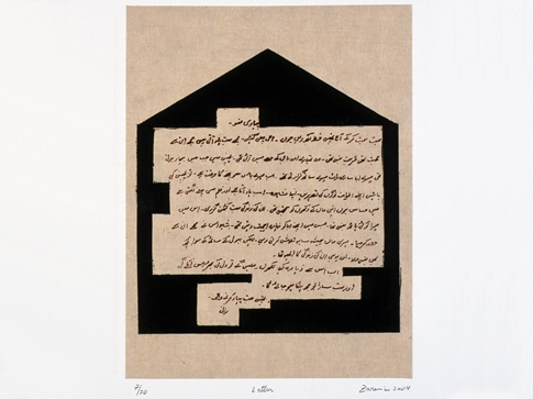 Zarina Hashmi by PaperArtView