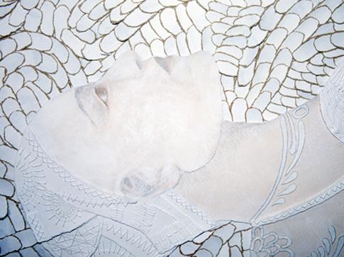 Bianca Severijns Pregnant detail 1
