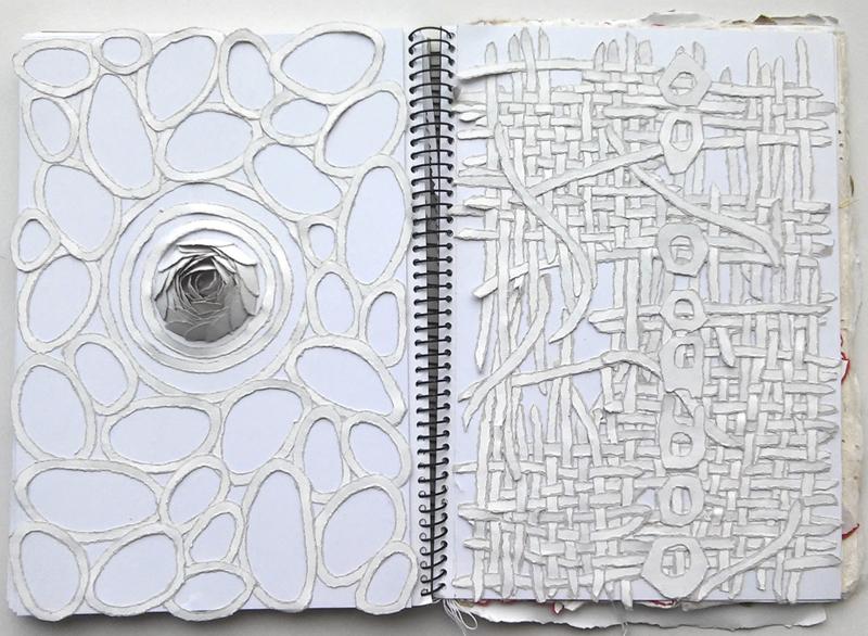 paper art sketches, Bianca Severijns, paper artist, paper sketch