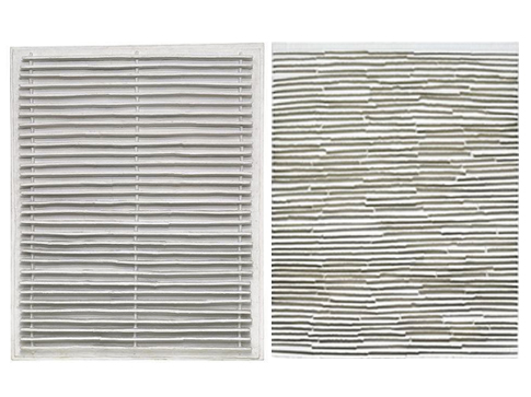 "Jan Schoonhoven – Monochrome Paper reliefs by ""PaperArtView"""