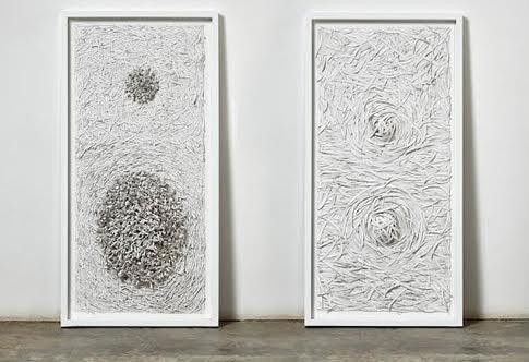 paper art, paper artist, Bianca Severijns, Earth Skins