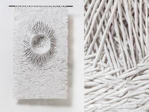Bianca Severijns, paper art, paper artist, nesting
