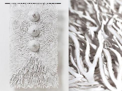 Bianca Severijns, paper art, paper artist,  uprooted