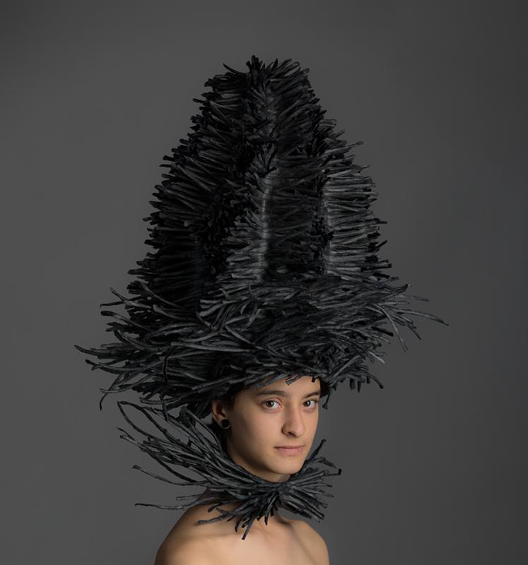 Paper art, paper vessel, Bianca Severijns, paper artist