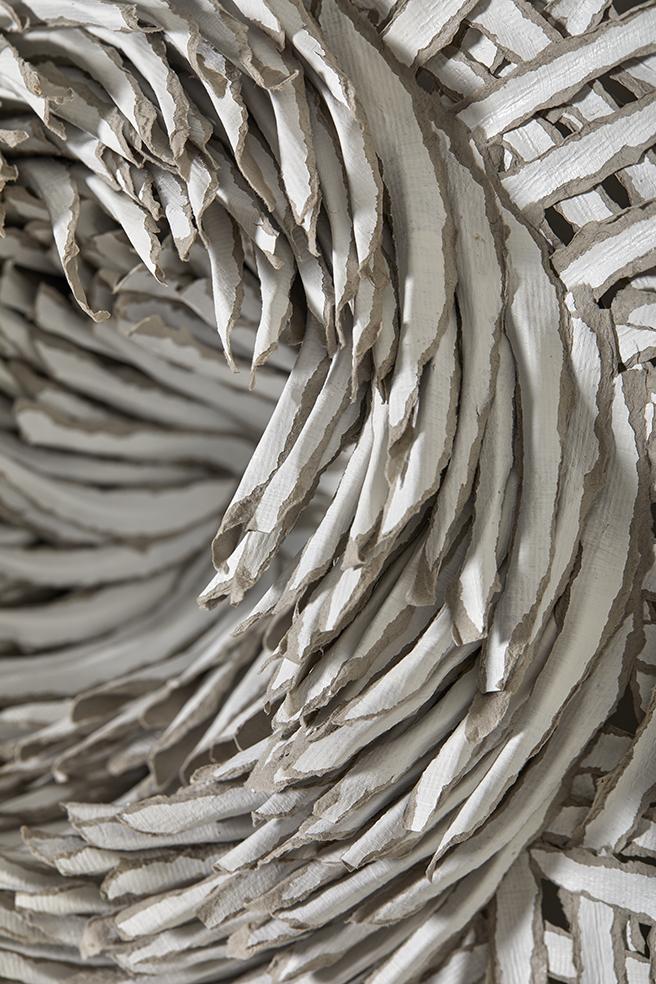 Art beyond Waste, paper art, paper artist, contemporary art, Bianca Severijns, modern art