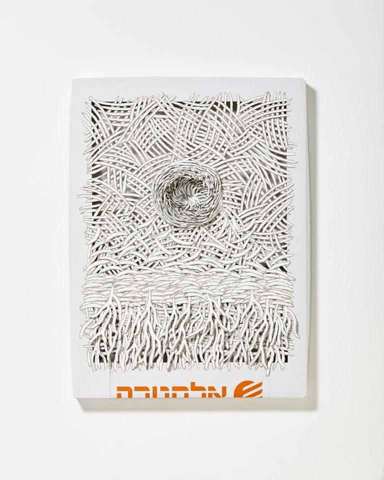 Paper art, paper artist, paper, contemporary art, Bianca Severijns, Electra