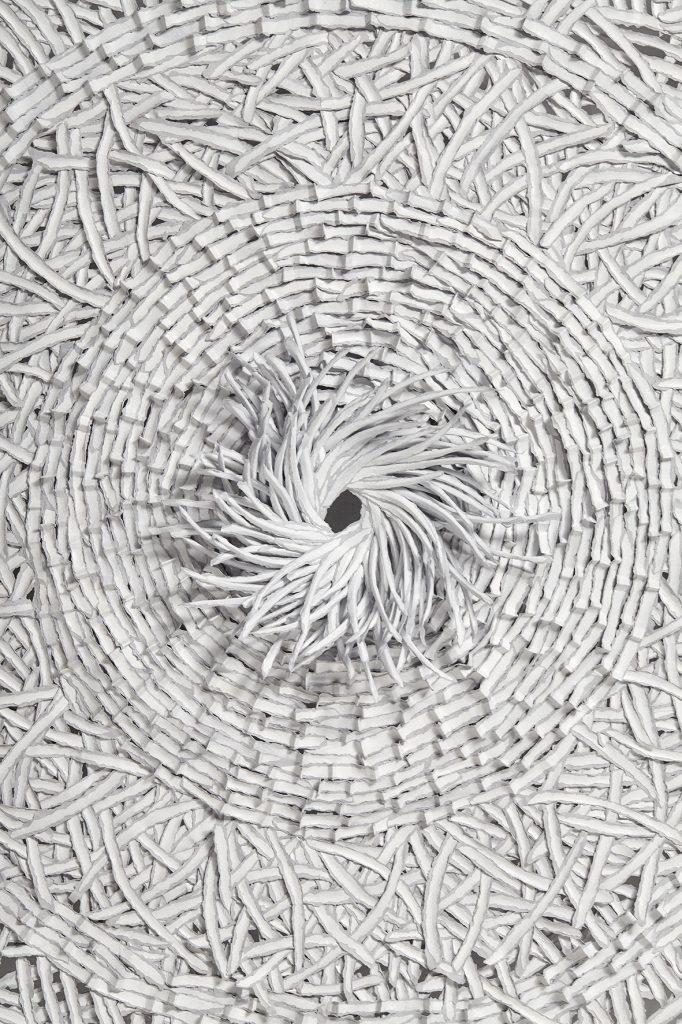 contemporary paper art carpet, paper art, paper artist, Bianca Severijns, contemporary paper art, contemporary paper artist, paper art carpet