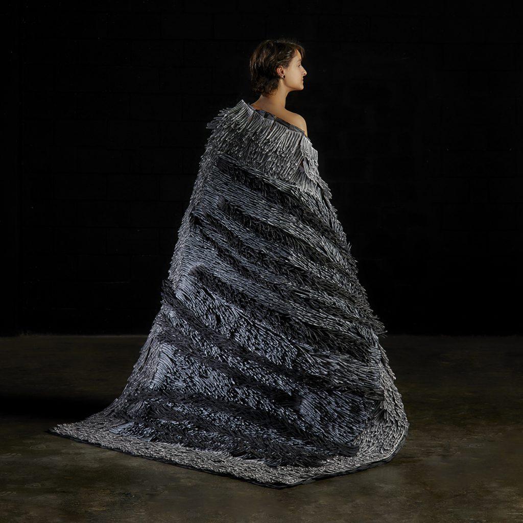 Bianca Severijns, Protective Blanket Series, contemporary paper art, contemporary paper artist, paper art, paper artist