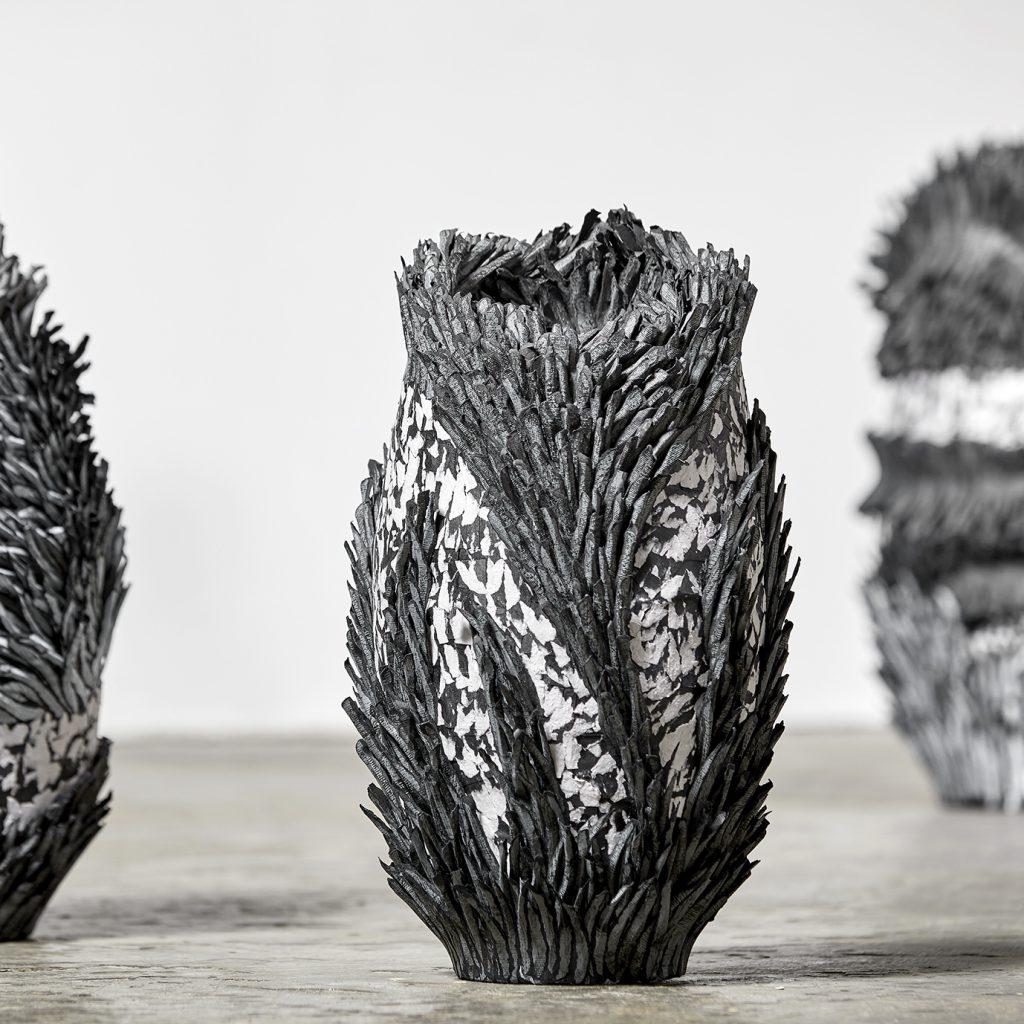 Bianca Severijns, paper art vessels, paper artist, contemporary artist, contemporary art, contemporary paper art, modern art, Respond to place