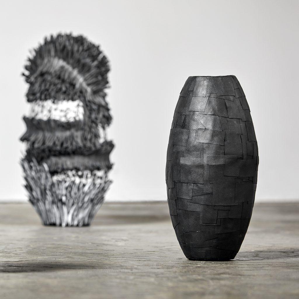 Bianca Severijns, paper art, contemporary art vessels, contemporary artist, contemporary paper art, modern art, Respond to Place