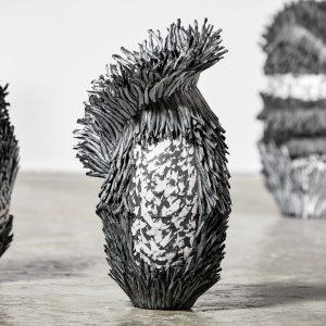 Bianca Severijns, paper art, modern art, contemporary art, contemporary paper art, contemporary artist, contemporary paper artist, contemporary art vessels, Respond to Place
