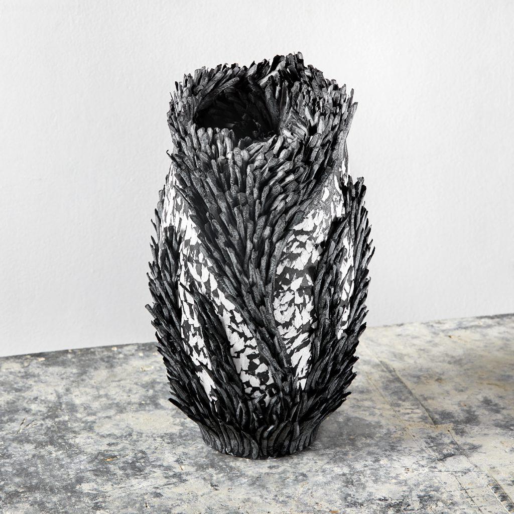 contemporary art vessels,contemporary art, contemporary paper art, paper art, contemporary artist, contemporary paper artist, Bianca Severijns, art vessels, Respond to Place