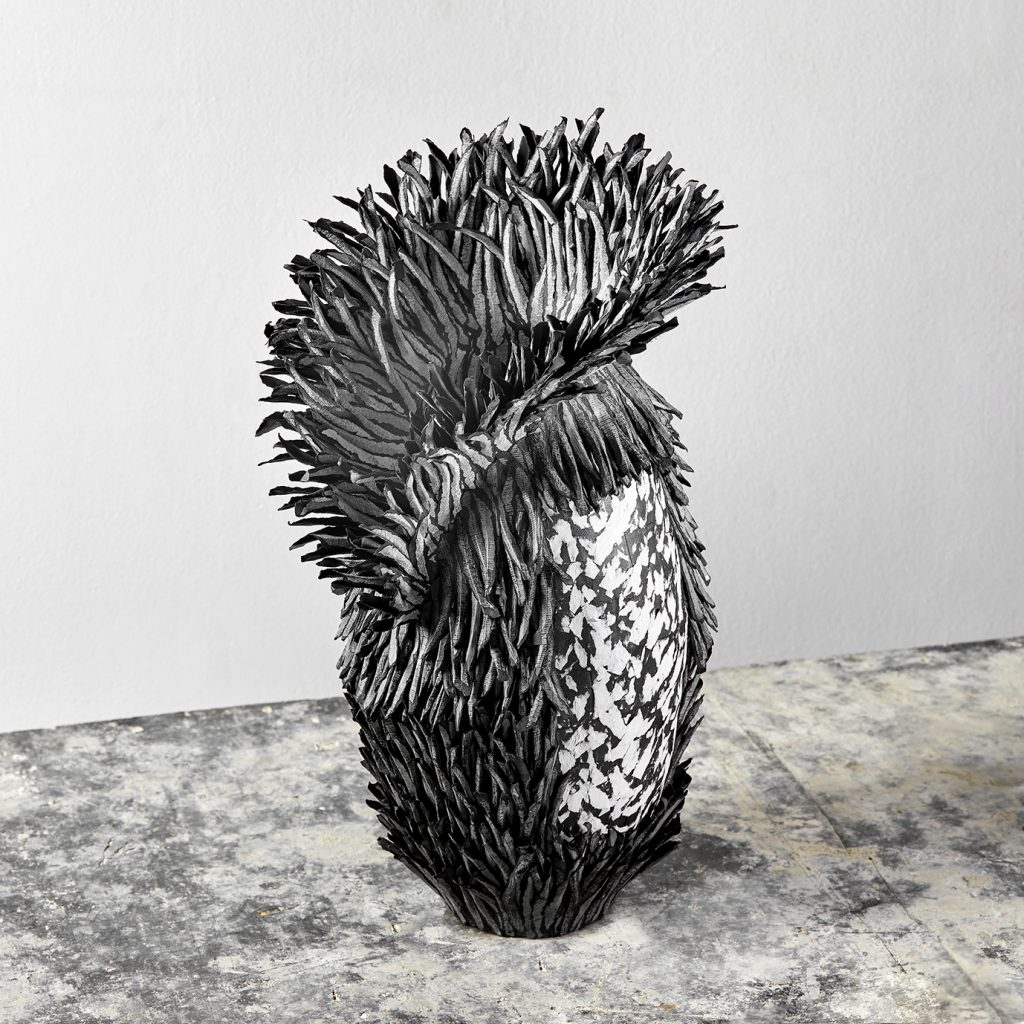 Bianca Severijns, contemporary paper art, paper art, modern art, contemporary paper artist, contemporary art vessels, contemporary artist, Respond to Place