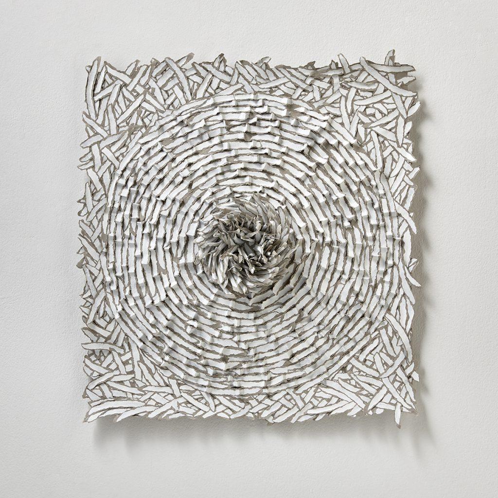 contemporary art reliefs, Bianca Severijns, contemporary art, modern art, paper art, contemporary paper art, contemporary paper artist, paper artist, movement and rhythm