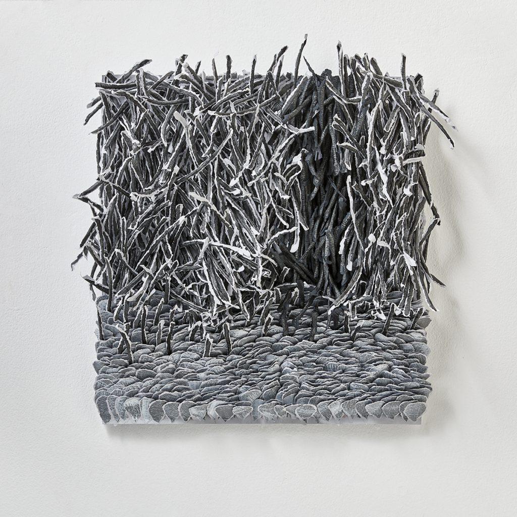 contemporary art reliefs, Bianca Severijns, paper art, contemporary art, modern art, contemporary paper art, contemporary paper artist, movement and rhythm
