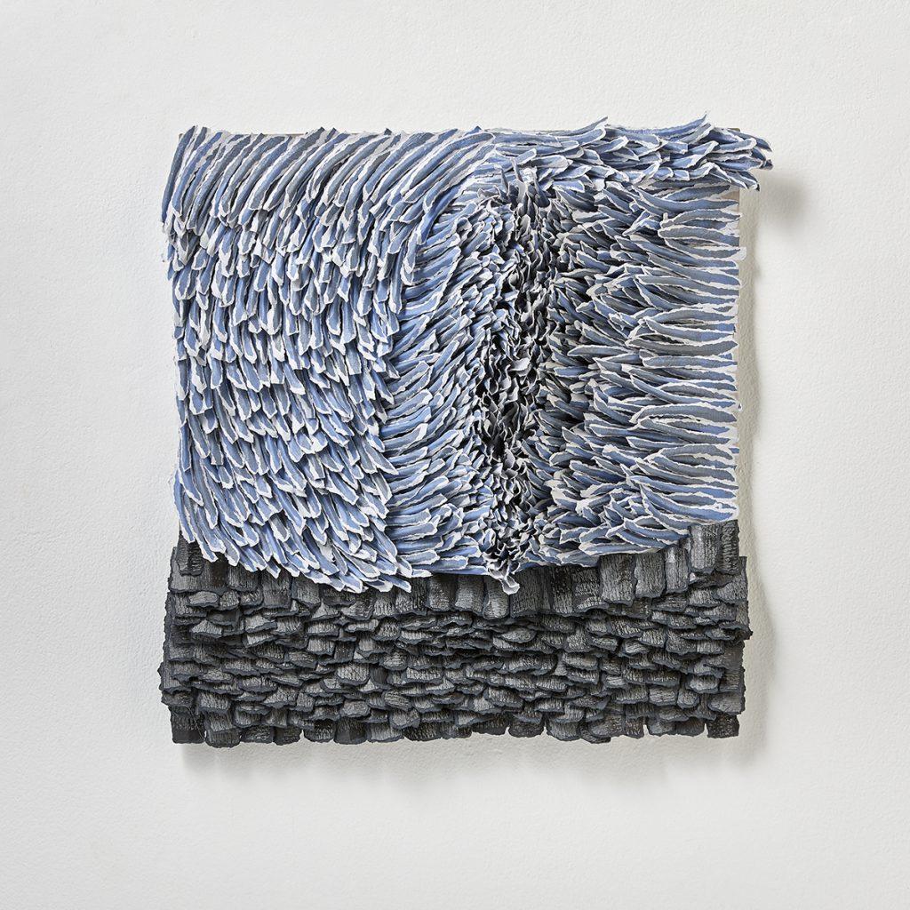 contemporary art reliefs, Bianca Severijns, contemporary art, modern art, paper art, contemporary artist, contemporary paper artist, contemporary paper art, movement and rhythm
