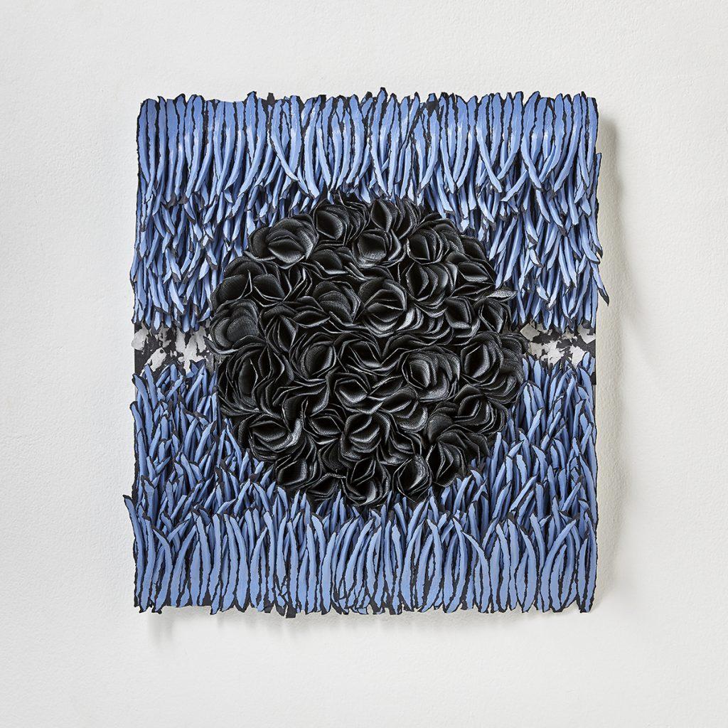 contemporary art reliefs, Bianca Severijns, contemporary art, modern art, paper art, contemporary paper artist, contemporary paper art, movement and rhythm