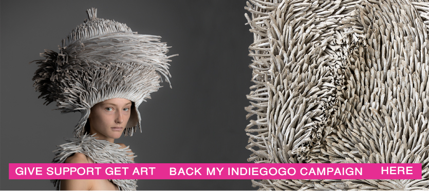 indiegogo, bianca Severijns, paper art, contemporary art, contemporary paper art, paper artist