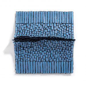 Bianca Severijns, paper art, paper artist, contemporary art relief, contemporary artist, contemporary art, Di Carta 4th paper Biennial, relief, Movement and rhythm series
