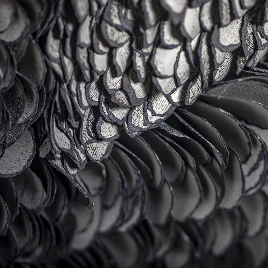 Bianca Severijns , wings of beauty, paper art, paper artist, contemporary art, contemporary artist, Di Carta 4th paper Biennial