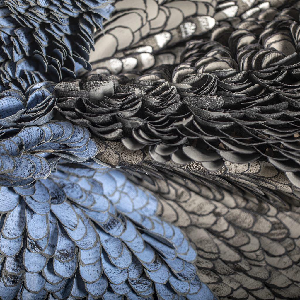 Bianca Severijns, paper art, paper artist, wings of beauty, contemporary art, contemporary artist, paper sculpture, DiCarta 4th paper biennial