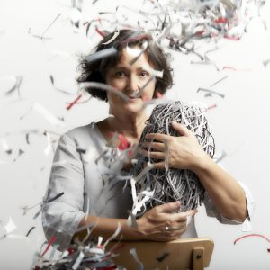 Bianca Severijns, paper artist, contemporary artist, artist portrait