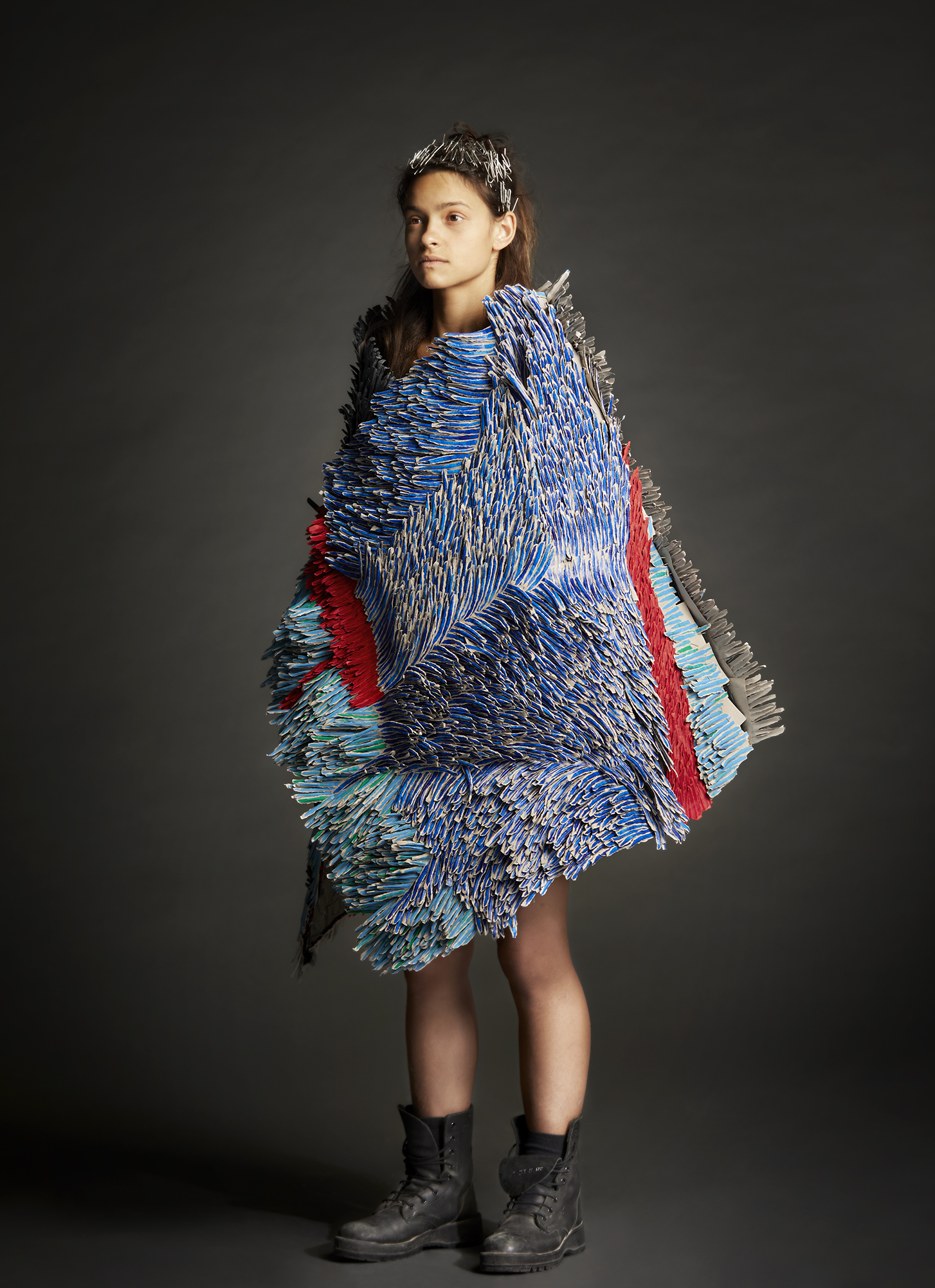 Bianca Severijns, paper artist, paper art, contemporary art, contemporary artist, Protective Blanket 2019