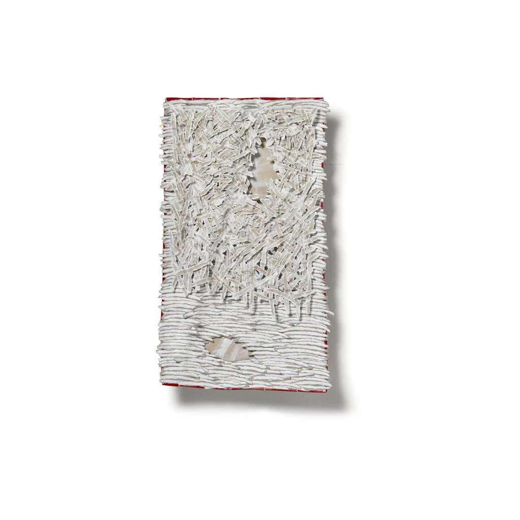 Bianca Severijns, paper art, paper artist, contemporary art, contemporary artist, protective blanket 11
