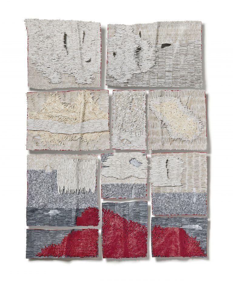 Bianca Severijns, paper art, paper artist, contemporary art, contemporary artist, protective blanket