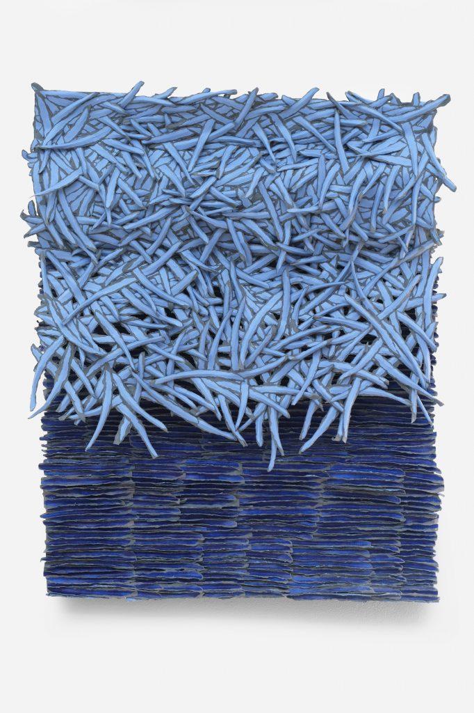Bianca Severijns, paper art, paper artist, contemporary art relief, contemporary artist, contemporart, relief, Movement and Rhythm Series 2020, Freshpaint