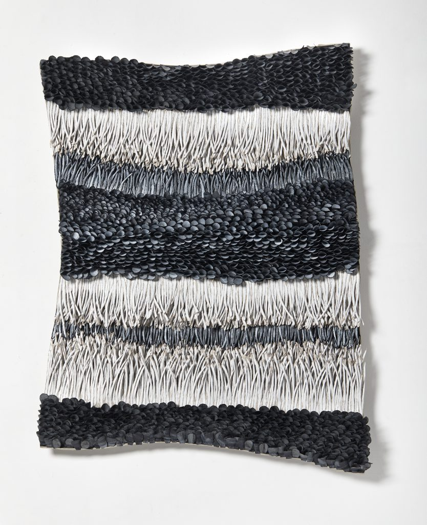 Bianca Severijns, paper art, paper artist, contemporary art, art relief, contemporary artist, art sculpture, Movement and rhythm series 2020