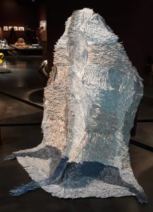 Bianca Severijns, paper art, paper artist, contemporary art, contemporary artist, TLV Biennial 2020, Eretz Israel Museum, Protective Blanket Series 2019