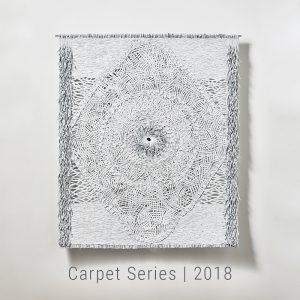 contemporary paper art carpet,paper art, paper artist, paper artist Bianca Severijns, paper art carpet, paper contemporary art carpet, art carpet Acco