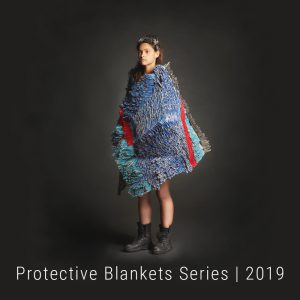 Bianca Severijns, paper artist, paper art, contemporary art, contemporary artist, Protective Blanket 2019