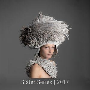 Bianca Severijns, contemporary artist, contemporary paper art, paper art, contemporary paper artist, Sisters Series , head vessels
