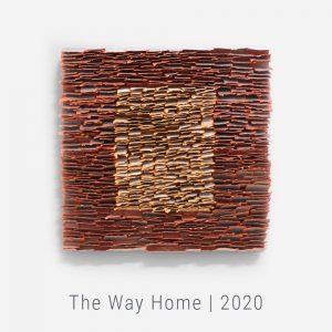 Bianca Severijns, paper art, paper artist, contemporary art relief, contemporary artist, contemporary art, TLV Crafts and Design Biennial 2020, the Way Home series 2020