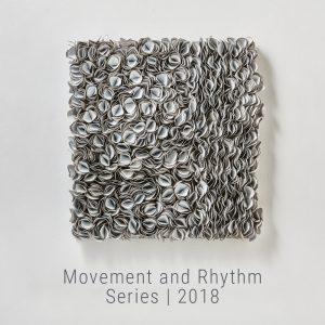 Bianca Severijns, paper artist, paper art, contemporary art, contemporary artist, Movement & Rhythm Series 2018