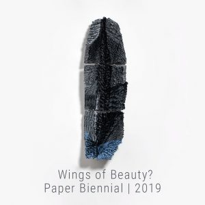 Bianca Severijns, paper art, paper artist, contemporary art relief, contemporary artist, contemporary art, Di Carta 4th paper Biennial, wings of Beauty 2019