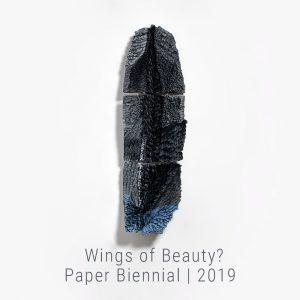 Bianca Severijns, paper art, paper artist, contemporary art relief, contemporary artist, contemporary art, Di Carta 4th paper Biennial, wings of Beauty 2019