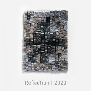 Bianca Severijns, paper art, paper artist, contemporary art relief, contemporary artist, contemporary art, Reflection exhibition, Originator 2020