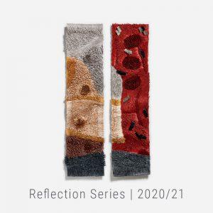 Bianca Severijns, paper artist, paper art, contemporary artist, contemporary paper artist, Reflection Series 2020/21